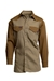 Lapco Flame Resistant 7oz Two-Tone Western Shirt - IKB7