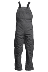Lapco Flame Resistant 9oz Insulated Bib Overall | Grey