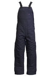 Lapco Flame Resistant 9oz Insulated Bib Overall | Navy
