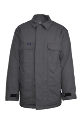 Lapco Flame Resistant 9oz Insulated Chore Coat | Grey