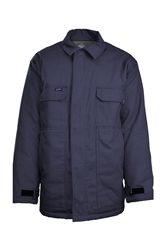 Lapco Flame Resistant 9oz Insulated Chore Coat | Navy