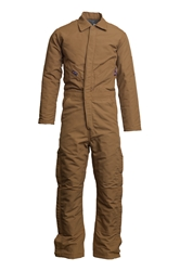Lapco Flame Resistant 9oz Insulated Coverall | Brown