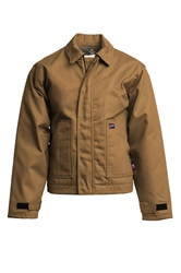Lapco Flame Resistant 9oz Insulated Jacket | Brown