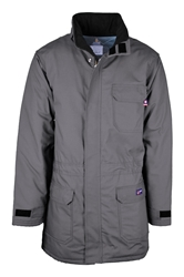 Lapco Flame Resistant 9oz Insulated Parka | Grey