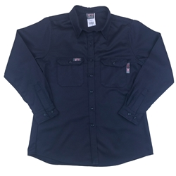 Lapco Women's FR Navy Advanced Comfort Uniform Shirt
