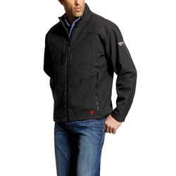 Mens Ariat FR Black Vernon Jacket