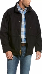 Mens Ariat FR Workhorse Jacket | Black