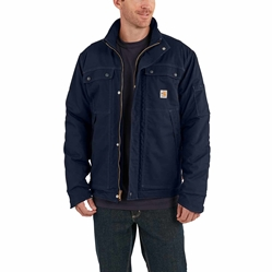 Men's Carhartt Full Swing FR Quick Duck Coat | Dark Navy