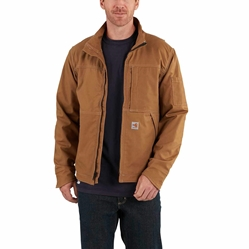 Men's Carhartt Full Swing FR Quick Duck Jacket | Brown