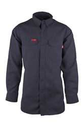 Mens Lapco 6.5 oz FR DH Shirt | Navy