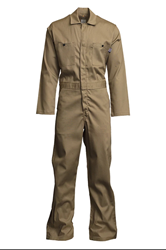 Mens Lapco 7 Ounce FR Khaki Economy Cotton Coverall