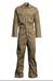 Lapco 7oz Flame Resistant Khaki Economy Coverall - CVEFR7KH