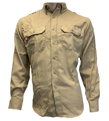 Mens Reed FR DH Shirt | Khaki