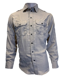 Mens Reed Nomex IIIA Snap Work Shirt | Gray