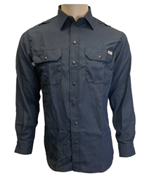 Mens Reed Nomex IIIA Snap Work Shirt | Navy