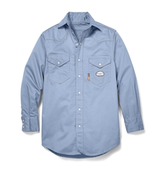 Rasco FR Lightweight Work Shirt | Work Blue