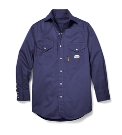 Rasco FR Navy Lightweight Work Shirt