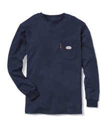 Rasco Flame Resistant Navy T-Shirt