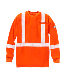 Rasco Flame Resistant Hi Vis Long Sleeve Shirt