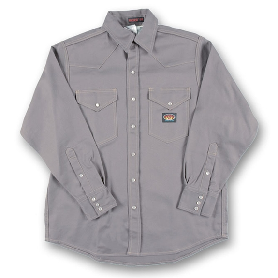 Rasco Gray FR Lightweight Work Shirt