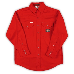 Rasco Fire Retardant Red Lightweight Work Shirt