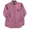 Rasco FR Red Plaid Dress Shirt
