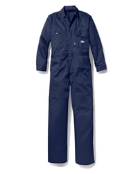 Rasco Flame Resistant UltraSoft Contractor Coverall | Navy