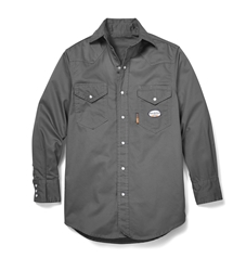 Rasco FR Lightweight Work Shirt | Gray