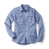 Rasco Women's Flame Resistant Blue Work Shirt