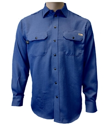 Reed Nomex IIIA Snap Work Shirt | Royal Blue