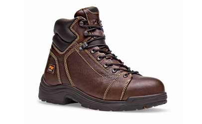 "Timberland Mens TiTAN 6"" Lace-To-Toe Safety Toe Boots"