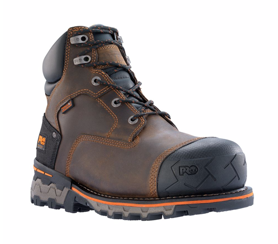 "Timberland Men's Boondock 6"" Waterproof Composite Toe Boots"
