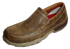 Twisted X Composite Safety Toe Driving Mocs Slip-On