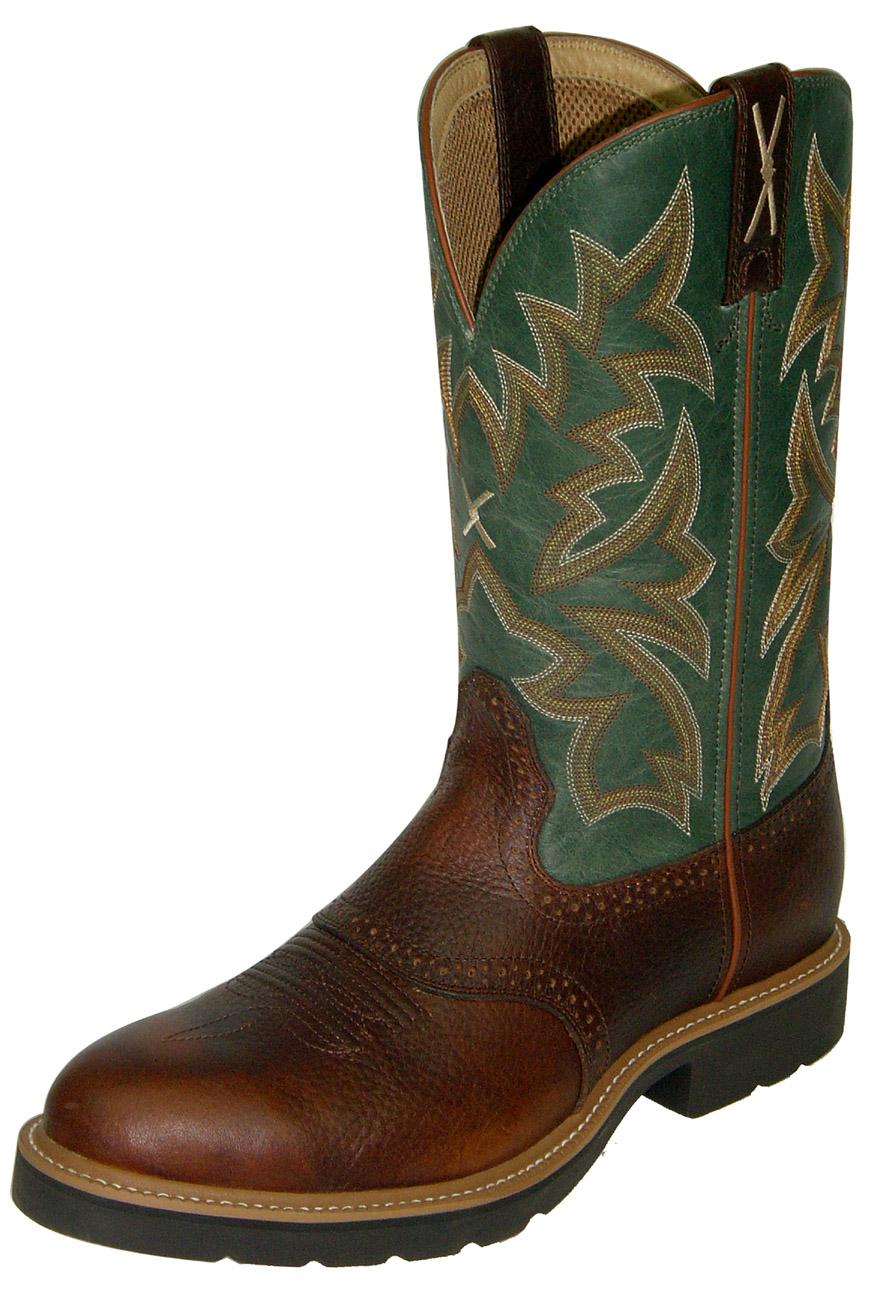 Cowboy Steel Toe Western Work Boot Twisted X