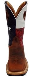 Twisted X Steel Toe Lite Weight Texas Flag Cowboy Work Pull-On
