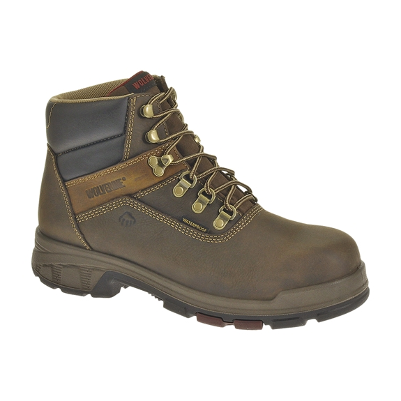 "Wolverine Cabor Steel Toe 6"" Waterproof Lace-Up Boots"