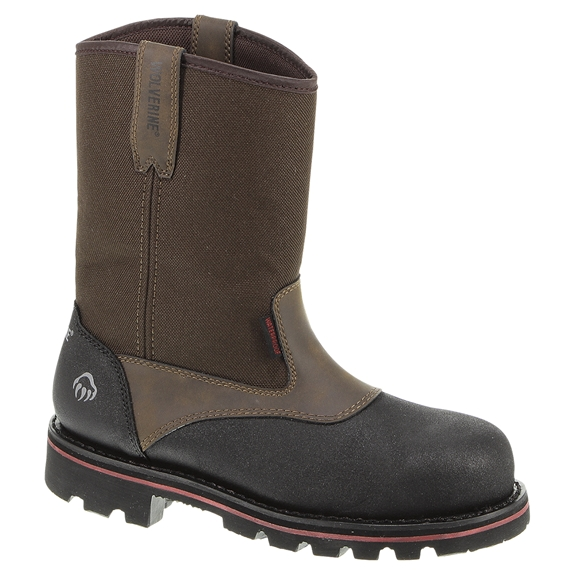 Wolverine Steel Toe Drillbit Waterproof Wellington Boots