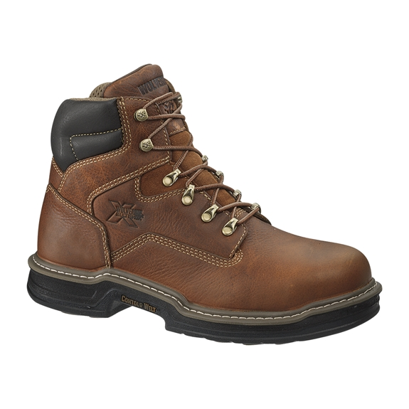 "Wolverine Steel Safety Toe Raider 6"" Lace-Up"