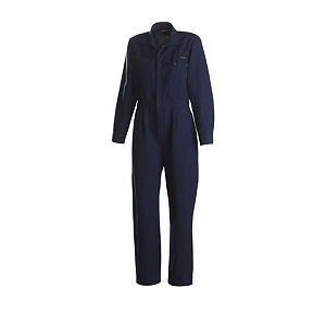Workrite 6 oz. Nomex IIIA Womens Navy Industrial Coverall