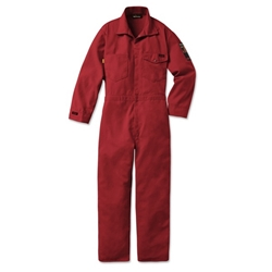 Workrite 7 oz. Nomex MHP Red Deluxe Industrial Coverall