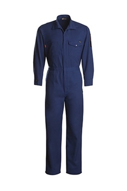 Workrite 7 oz. Nomex MHP Royal Blue Deluxe Industrial Coverall