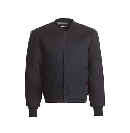 Workrite 7 oz. Ultrasoft Athletic-Style Black Jacket/Liner