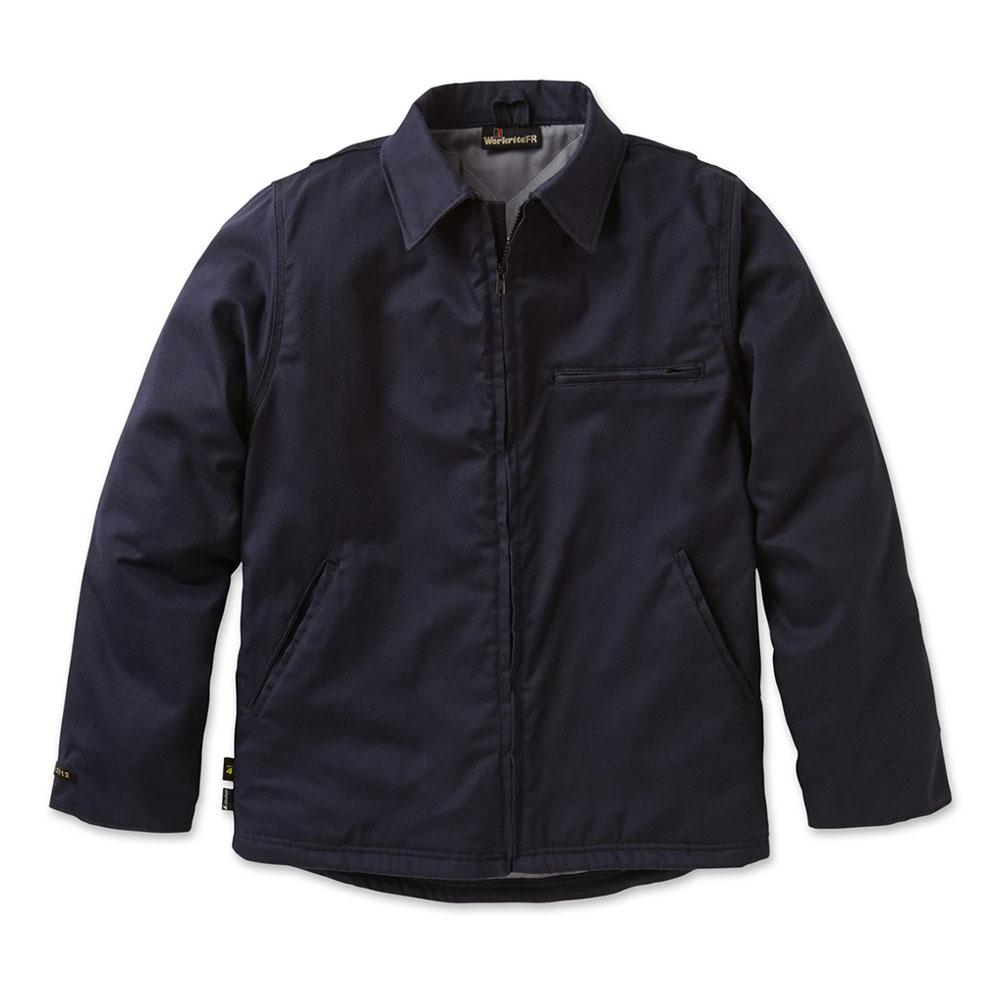 d34dd9ba5999 Workrite FR - Workrite 8.5 oz. Ultrasoft Insulated Black Work Jacket   525UT85BK