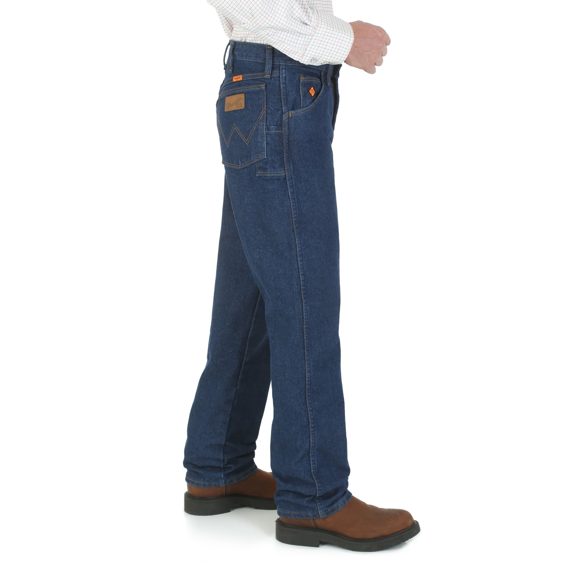 cc483022c8a ... Wrangler Fire Retardant Jeans Relaxed Fit ...