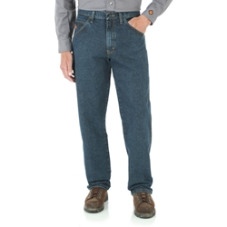 Wrangler Flame Resistant Carpenter Jean Indigo Crosshatch | FR3W02I