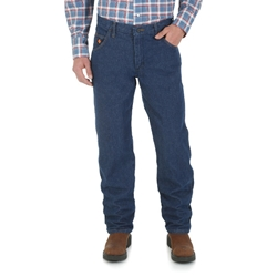 Wrangler Flame Resistant Regular Fit Lightweight Denim Jean | FR47MLW