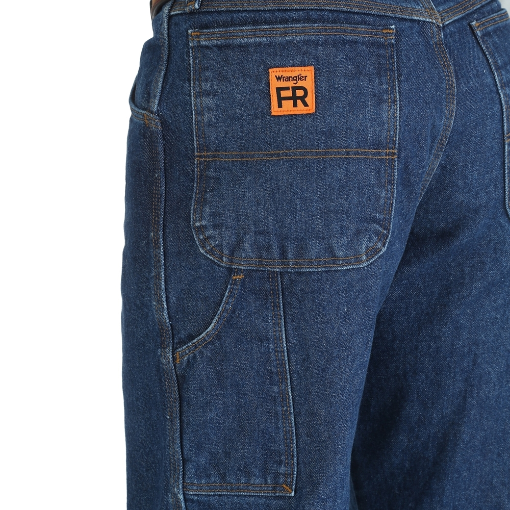 Men S Carpenter Fr Blue Jeans Wrangler Fr3w020