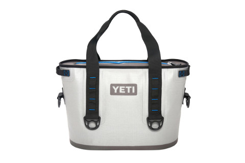 Yeti 20 qt Blue/Gray Hopper