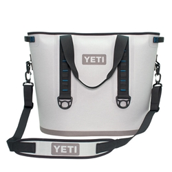 Yeti 40 qt Blue/Gray Hopper