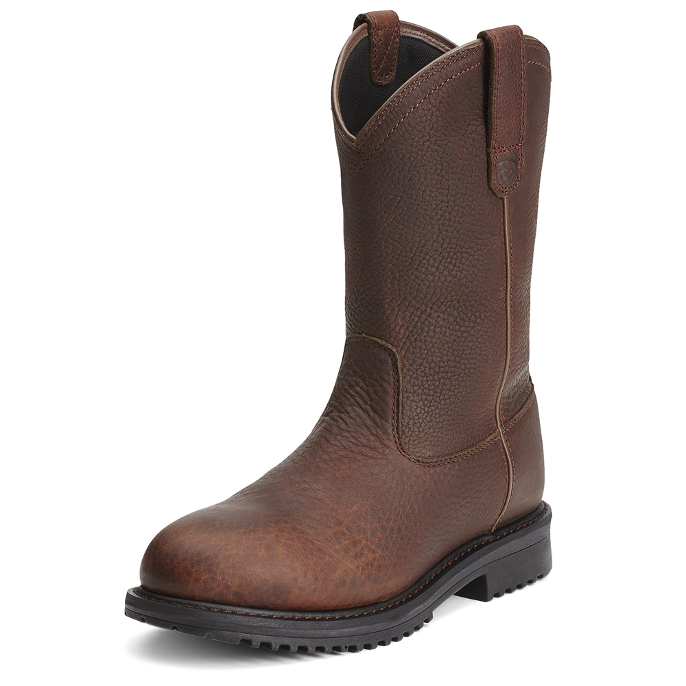3cedf35f3c7 Ariat Rigtek Waterproof Men's Pull on Comp Toe Boots
